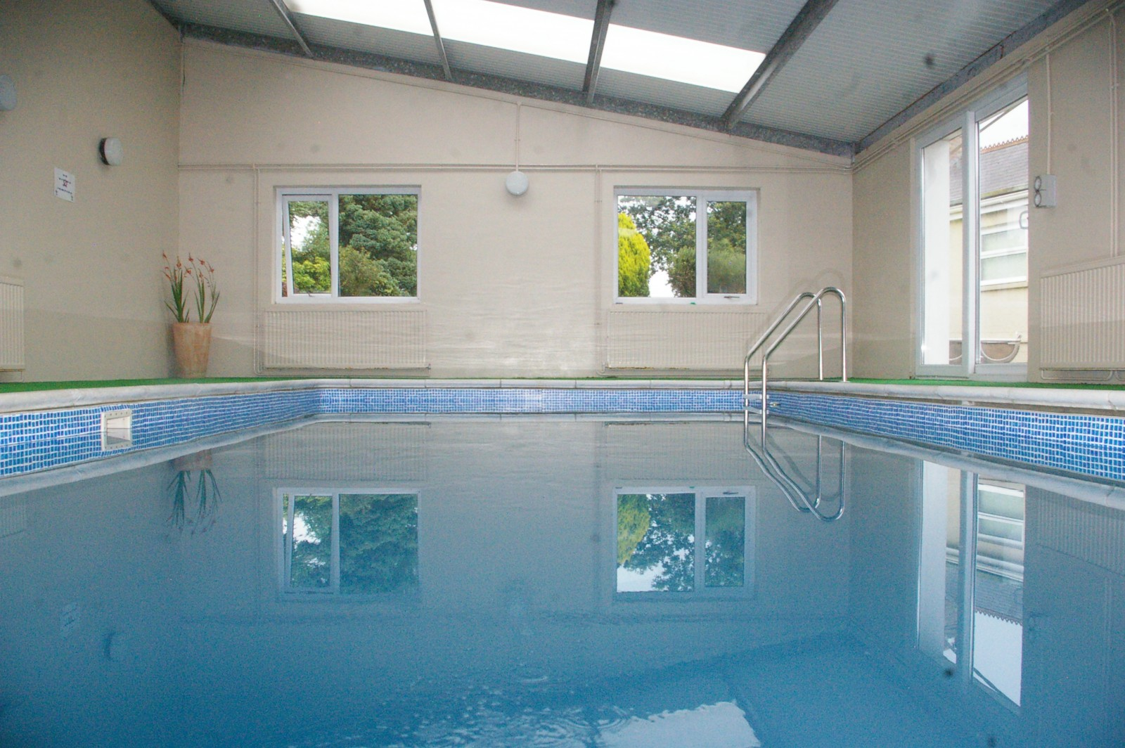 Farm Holidays Wales Indoor Pool And Hot Tub At Morlogws Farm