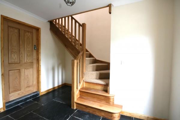 Morlogws Carthouse Cottage Stairs