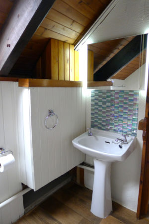 Morlogws Carthouse Cottage Bathroom